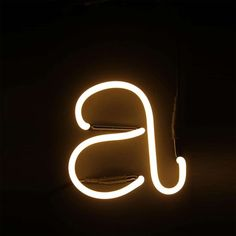 Letras Neon Art Font. Seletti