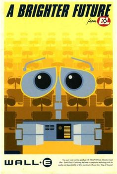 WALL-E Poster - very favorite
