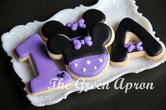 12 1 dozen  Mouse Themed  Decorated Sugar by TheGreenApronAR