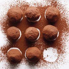 Bourbon-Caramel Truffles Recipe   MyRecipes