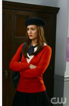 """Bonfire of the Vanity"" Pictured: Leighton Meester as Blair Photo Credit: Giovanni Rufino / The CW © 2008 The CW Network, LLC. All Rights Reserved."
