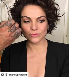 Lana Parrilla (@lparrilla) Instagram: «Loving my fresh morning look! Only @makeupvincent can create these eyes!! Love you, papa!…»