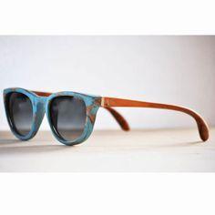 """Marjo Wooden Eyewear """"Bandita Azzurra"""""""