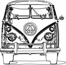 16 best colour images coloring books coloring pages vintage 61 VW Bus vw bus coloring page free adult coloring pages busa vw c er vw bus