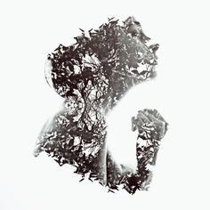 aneta ivanova fotografia dupla exposição silhuetas paisagens scars