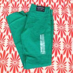 Aeropostale jeans Green jeans size 30x32 Aeropostale Jeans Straight Leg