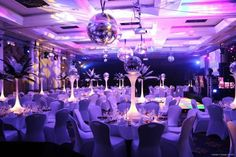 Table centrepieces for weddings, banquets, receptions and party decoration @classicoproductions