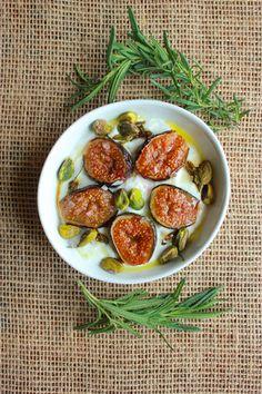 Recipe: Greek Yogurt w/Rosemary-Honey Caramelized Figs, Pistachios ...