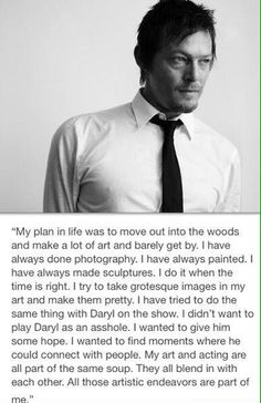 Norman Reedus quote