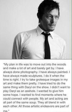 Norman Reedus quote