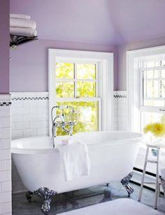 Bright Purple Bathroom