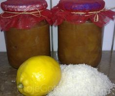 Prażone jabłka z nutką cytryny i kokosu