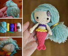 Free Crochet Amigurumi Mermaid Pattern : Free amigurumi patterns to melt your heart mermaid crochet