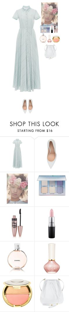 """""""Lovely look"""" by eliza-redkina ❤ liked on Polyvore featuring LUISA BECCARIA, Gianvito Rossi, Vox Populi, Anastasia Beverly Hills, Maybelline, MAC Cosmetics, Chanel and Paul & Joe Beaute"""