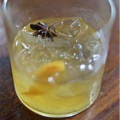 Un cocktail à base de Gin de Neige et de Cidre de Glace Neige créé par Nader Chabaane du Fairmont Château Frontenac
