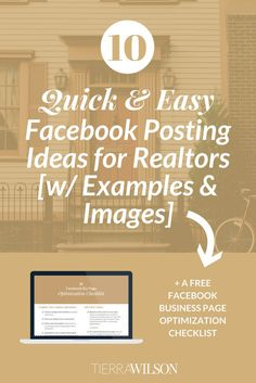 Running out of ideas for your real estate Facebook page? These 10 Facebook posting ideas for real estate pages will increase engagement and grow.