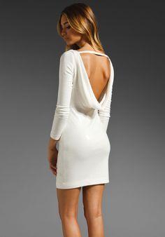 JAY GODFREY Gartner Sequin Long Sleeve Low Back Dress