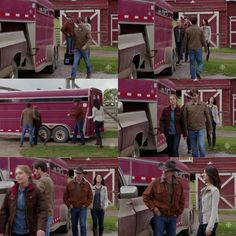 Tim: Hey, Ty, u no that truck of urs is no good for any kind of real work? It's too light to pull a trailer, terrible in the winter.  Lou: They're not hanging onto it for long anyway, right? Ty: What? Lou: Baby seat. There's nowhere to put it. U can't even get home from the hospital in that thing. Amy: That's not for months, Lou. Ty: Yeah, we still have time to figure all that out. Tim: Things are gonna change with this baby. Lou: Thank you, dad, you know, someone had to say it. (10x01)