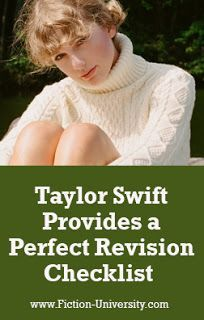 Taylor Swift's Lyrical Storytelling Provides a Perfect Revision Checklist