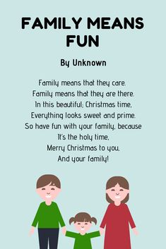Christmas poems are perfect to share with your family and friends. And to help you out, here are over 20 examples of Christmas poems for kids. Christmas Poems, Merry Christmas To You, Family Christmas, Advent For Kids, Advent Calendars For Kids, Family Poems For Kids, Best Poems, Family Meaning, Have Fun