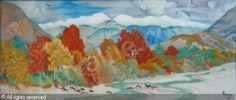 ZANON Carlo - Paysage d'automne