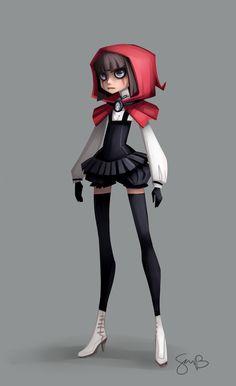 Red Riding Hood by sambragg on deviantART