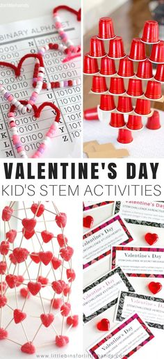 Flying cupids, launching hearts, and so much more! Let's kick off the season with a 14 Valentines Day STEM challenges  countdown. Valentines Day STEM activities are simple twists on everyday STEM activities. Adding hearts, traditional holiday colors, or themed candies/supplies is great for young kids. Encourage a love of learning with holiday themed STEM activities.