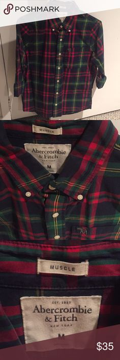 Abercrombie & Fitch men's shirt, medium, like new Abercrombie & Fitch men's shirt, medium, like new Shirts Casual Button Down Shirts