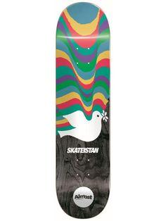 Almost Skateistan Dove Skateboard Deck Almost Skateboards, Sky Brown, Skateboard Decks, Gift, Skateboards, Skate Board, Gifts
