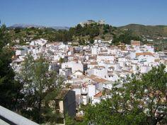 The Village of Ojen, Andalucia, Spain
