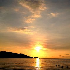 Patong beach sunset, Phuket, Thailand