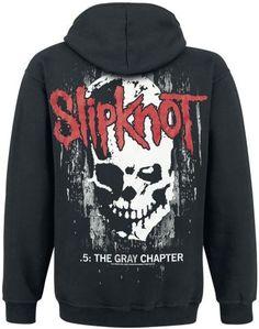 Slipknot The Gray Chapter Skull Hoodie (back)