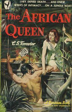 The African Queen, C. S. Forester ... is that Bogart and Hepburn?