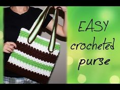 DIY: Easy Crochet Satchel - YouTube