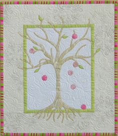 QUILT PATTERN Winter Harvest Seasonal Trees by sampaguitaquilts