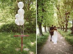 landelijke bruiloft