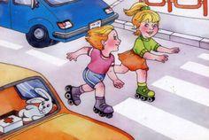 """Ребёнок и его безопасность"": ""Дорожные ситуации"" Cause And Effect, Kindergarten Teachers, Preschool, Family Guy, Kids, Fictional Characters, Offices, Safety, Science"