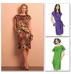 B5211 Misses' Dress & Belt | Very Easy