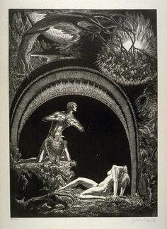 Bruno Goldschmitt_Der Sundenfall (The Fall) - Plate 4 from the portfolio Die Bibel (The Bible)