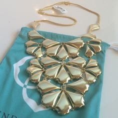 KENDRA SCOTT Camille bib necklace **BRAND NEW WITH TAGS** Kendra Scott Camille bib necklace in gold Kendra Scott Jewelry Necklaces