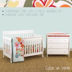 Nursery Furniture http://www.cottontaledesigns.com/collections/furniture-pacakge-3pc-bedding-set