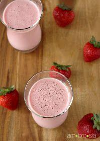 ambrosia: Strawberry Lassi
