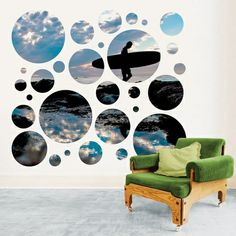 Sunset Cliffs Portal Wall Stickers