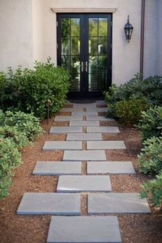 Get our best landscaping ideas for your backyard and front yard, including landscaping design, garden ideas, flowers, and garden design. Landscaping Ideas for the Front Yard - Better Homes and Gardens Modern Landscape Design, Modern Landscaping, Outdoor Landscaping, Front Yard Landscaping, Outdoor Gardens, Landscaping Ideas, Walkway Ideas, Entrance Ideas, Backyard Ideas