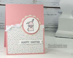 Made with Love Easter Card | Chic' n Scratch | Bloglovin'