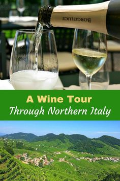 A Wine Tour Through Northern Italy. From the Veneto Region, into the picturesque Prosecco Hills and the border of Slovenia. Find the hidden secrets of Northern Italy's wines. Click to find out more! @venturists
