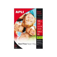 PAPEL A4 GLOSSY 140GR BEST PRICE. Papel Best Price Paper, brillante. Tamaño A4.