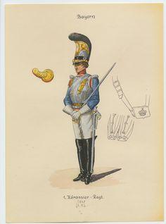 BAYERN - 1° Kurassieren Regiment