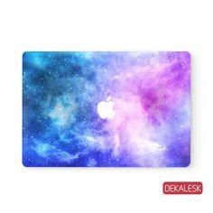 Vibrant Galaxy - MacBook Skin