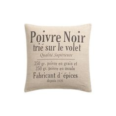 H&M Linen cushion cover (€9,82) ❤ liked on Polyvore